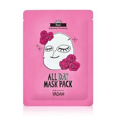 All day rose mask pack