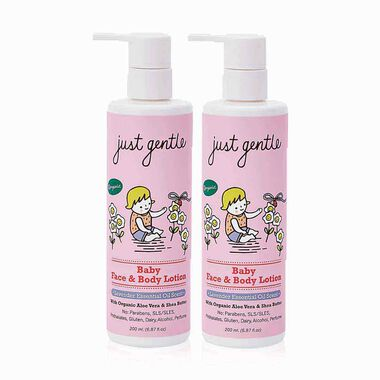 Baby Face & Body Lotion Lavender - Twin Pack
