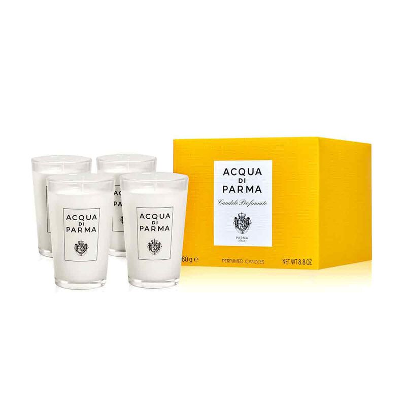 Set of 4 Small Colonia Candles 4x65gr