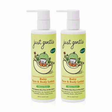 Baby Face & Body Lotion Melon - Twin Pack