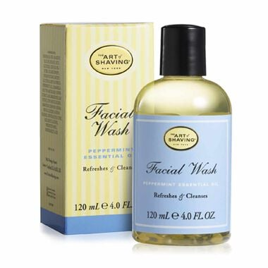 TAOS FACIAL WASH-PEPPERMINT 120ml