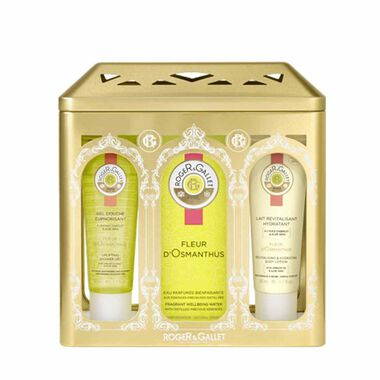 ROGER & GALLET FLEUR D'OSMANTHUS FRAGRANT WELLBEING WATER RITUAL SET