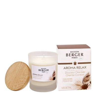Maison Berger Candle Aroma Relax Oriental Comfort 180G