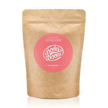 Strawberry Coffee Scrub 200g