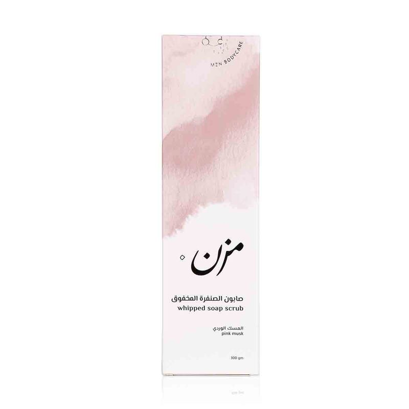 Pink Musk Whipped Soap Scrub 300g