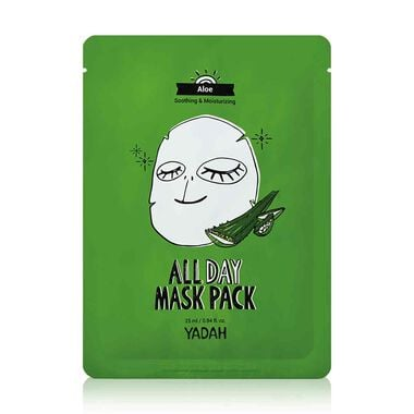 All day Aloe mask pack