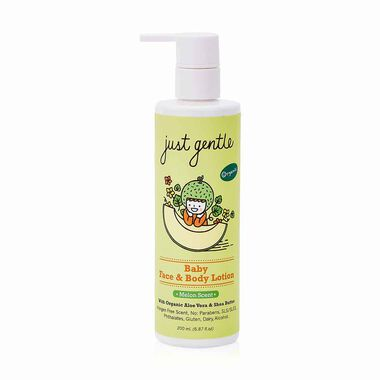 Organic Baby Face & Body Lotion(Melon Scent)
