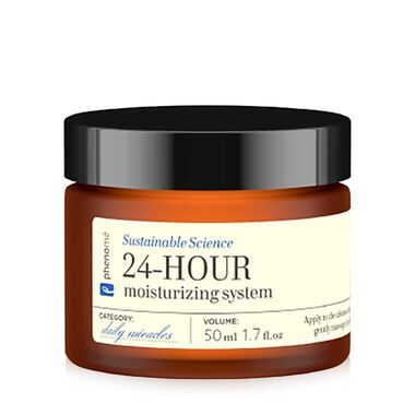 Sustainable Science 24-HOUR moisturizing system