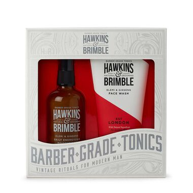 Hawkins & Brimble Face Gift Set Face Wash & Daily Moisturiser