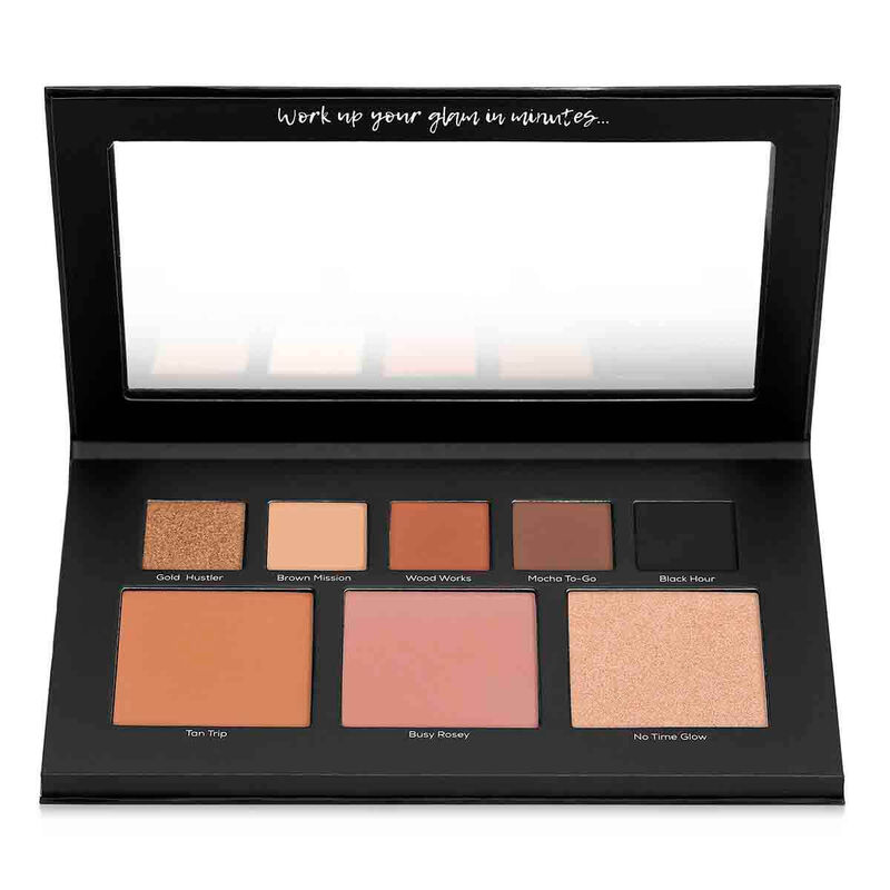 On The Run – Face and Eye Palette