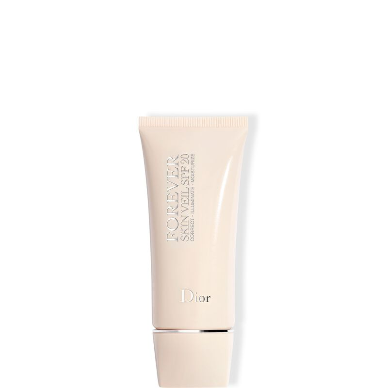 Dior Forever Skin Veil SPF 20 Extreme Wear & Moisturizing Makeup Base - Correction, Protection & Illumination - Floral Extract-Enriched Skincare - SPF 20 PA++
