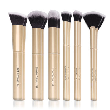 Gold Brush Set