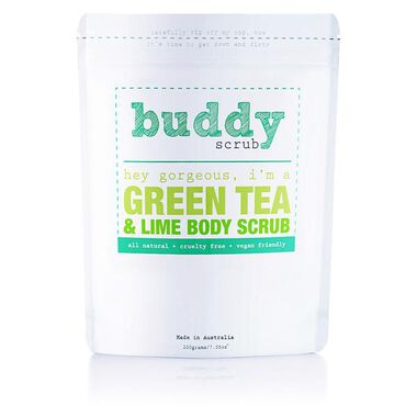 Green Tea & Lime Natural Body Scrub 200g