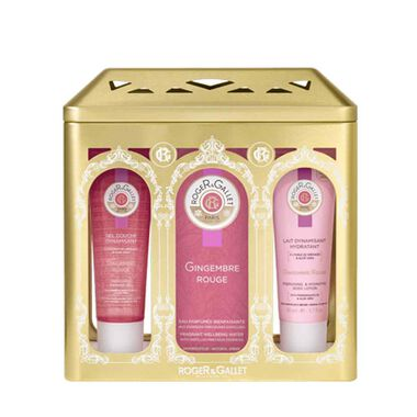 ROGER & GALLET GINGEMBRE ROUGE FRAGRANT WELLBEING WATER RITUAL SET