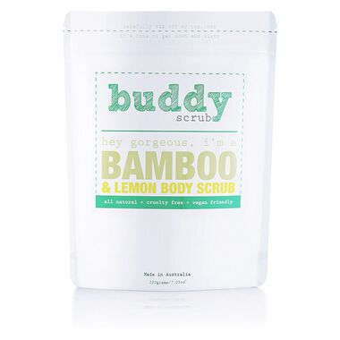 Bamboo Natural Body Scrub 200g