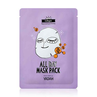 All day collagen mask pack