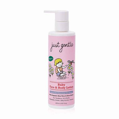Organic Baby Face & Body Lotion (Lavender Scent) 200ml