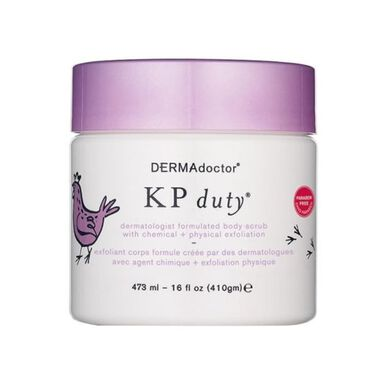 KP Duty Dermatologist Formulated Body Scrub 410g