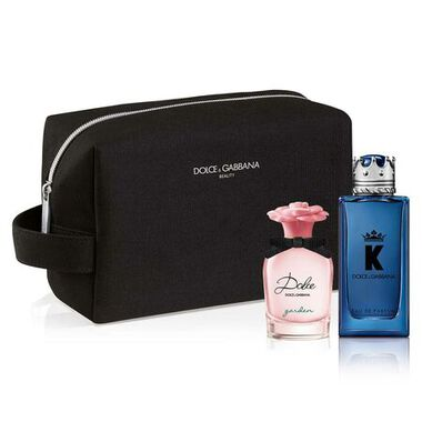Free Male Big Pouch with 2 mini perfumes from DG