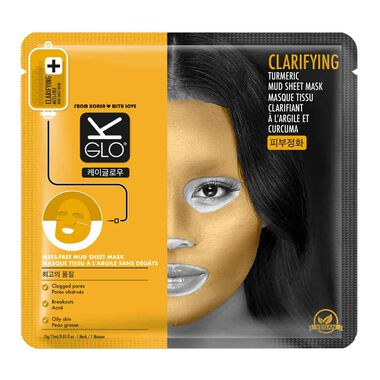 Clarifying Turmeric Mud Sheet Mask