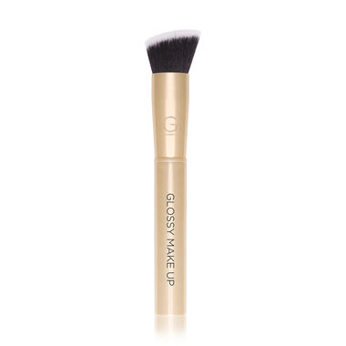 Slant Contour Brush Gold