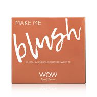 Make Me Blush - Blush and Highlighter Palette