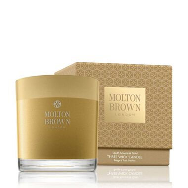 Oudh Accord & Gold 3-Wick Candle 480G