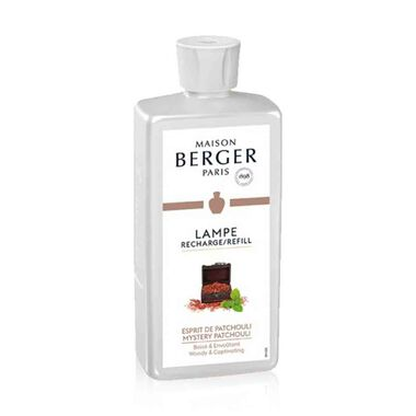 Maison Berger Esprit De Patchouli / Mystery Patchouli Lampe Berger Refill For Home Fragrance Oil Diffuser 500 Ml