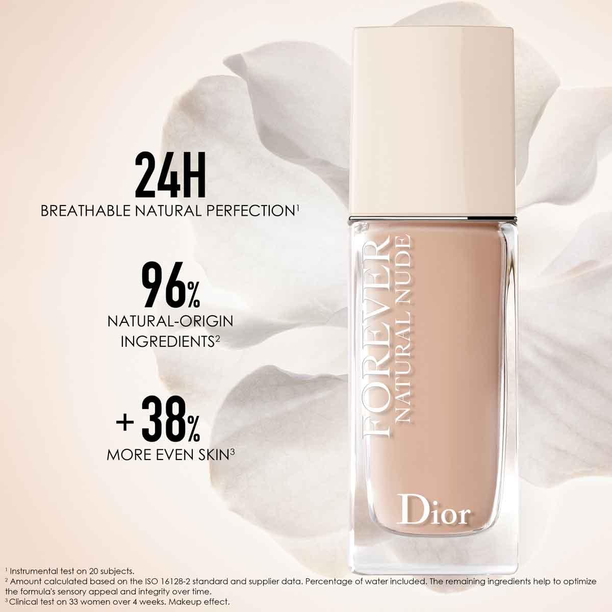 Dior Diorskin Nude Skin-Glowing Foundation Broad Spectrum